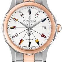 Corum Admiral's Cup Legend 38 nowość Automatyczny Zegarek z oryginalnym pudełkiem 08220024-V200-AA14