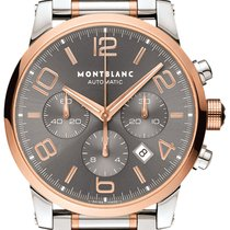 Montblanc Timewalker Steel 43mm Grey Arabic numerals United States of America, California, Moorpark