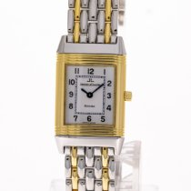 Jaeger-LeCoultre Reverso Lady Gold/Steel 20mm White Arabic numerals