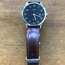 Junghans Attaché Stal 42mm Czarny