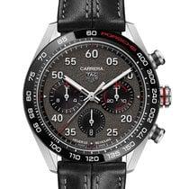 TAG Heuer Carrera Porsche Chronograph Special Edition Steel Grey