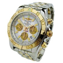 Breitling Gold/Steel 44mm Automatic CB011012/A697 pre-owned