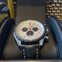 Breitling Chrono-Matic 49 Сталь 49mm Белый Без цифр