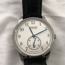 Union Glashütte 1893 Small Second Steel 41mm White