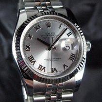 Rolex Datejust Acier 36mm Argent Arabes France, Paris
