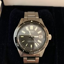 Seiko Steel Automatic Black 40mm pre-owned Marinemaster