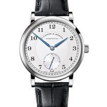 A. Lange & Söhne 1815 White gold 38.5mm Silver Arabic numerals United States of America, California, Irvine