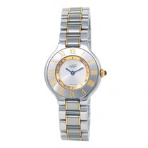Cartier 21 Must de Cartier Gold/Steel 28mm Silver United States of America, New York, New York