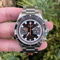 Tudor Heritage Chrono Steel 42mm Black No numerals United States of America, California, Los Angeles