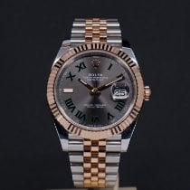 Rolex Datejust II Guld/Stål 41mm Grå Ingen tal Danmark, Aarhus C