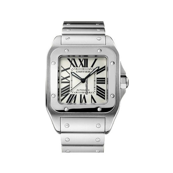Cartier Santos 100 W200737G 2021 новые