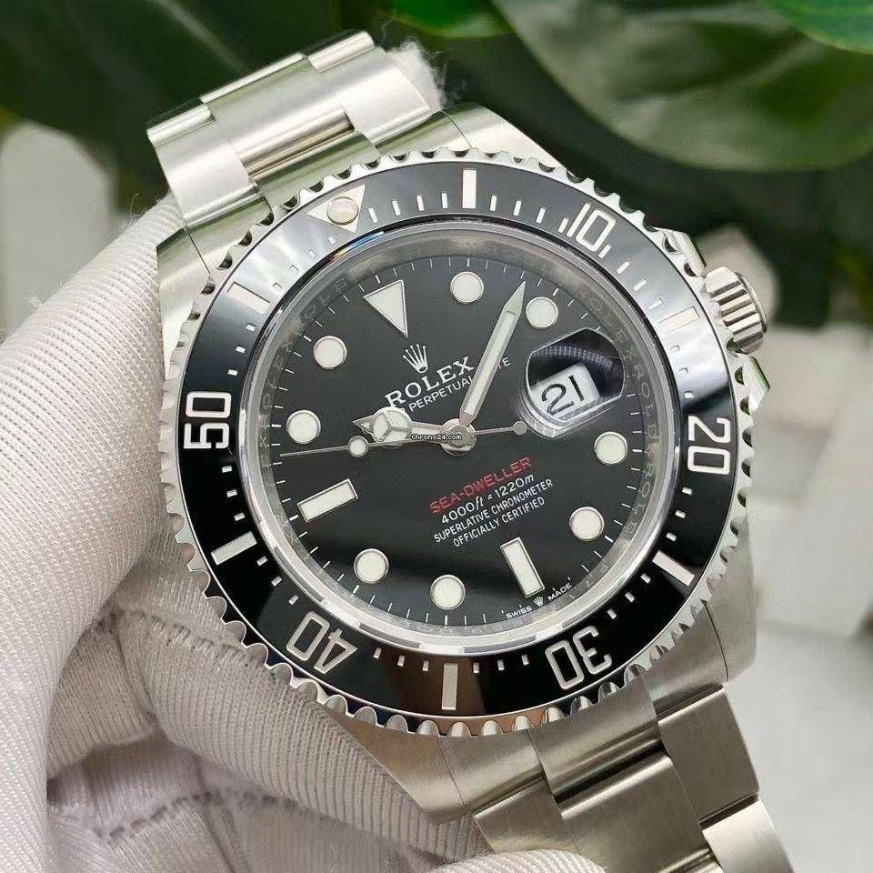 Rolex Sea-Dweller 4000 126600-0001 2021 nuevo