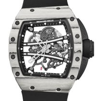 Richard Mille RM 061 Carbon 50.23mm Transparent No numerals