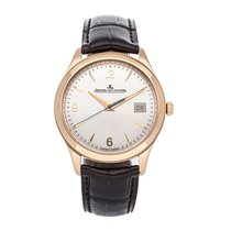 Jaeger-LeCoultre Master Control Date Rose gold 39mm Silver No numerals United States of America, Pennsylvania, Bala Cynwyd