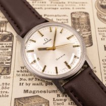 Omega Genève Steel 34mm Silver No numerals United States of America, Texas, San Antonio