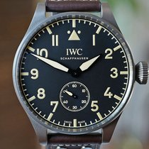 IWC Titanium Manual winding Black 55mm new Big Pilot