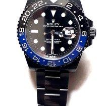 Rolex GMT-Master II Acier Noir Sans chiffres France, vals les bains