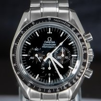 Omega Speedmaster Professional Moonwatch pre-owned 42mm Black Chronograph Date Tachymeter Steel