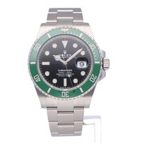 Rolex Silver Automatic Black 41mm new Submariner Date