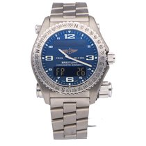 Breitling Emergency Steel 43mm Blue