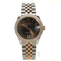 Rolex Datejust 31 nieuw 2021 Automatisch Horloge met originele doos en originele papieren 278381RBR