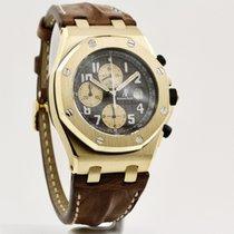 Audemars Piguet Royal Oak Offshore Aur galben 42mm Maron Arabic