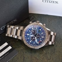 Citizen Promaster Sky Titanium 45mm Blue No numerals