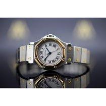 Cartier Santos (submodel) 25mm Automatik gebraucht Uhr mit Original-Box