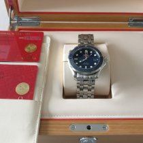 Omega Seamaster Diver 300 M Steel 41mm Blue No numerals United Kingdom, Beckenham