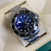 Rolex Sea-Dweller Deepsea Steel 44mm Blue No numerals United Kingdom, LONDON