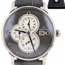 Jaquet-Droz Astrale White gold 43mm Silver United States of America, New York, Lynbrook