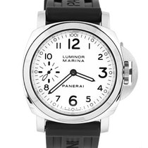 Panerai Luminor Marina PAM 00113 Very good Steel 44mm Manual winding