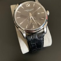 Hamilton Jazzmaster pre-owned 43mm Grey Date Leather
