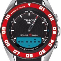 Tissot Sailing-Touch Сталь 45mm Черный