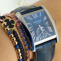 Cartier Tank MC neu 2015 Automatik Uhr mit Original-Box und Original-Papieren WSTA0010