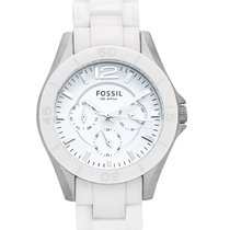 Fossil Ceramic Quartz White 38mm new