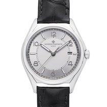 Vacheron Constantin Fiftysix pre-owned 40mm Silver Leather