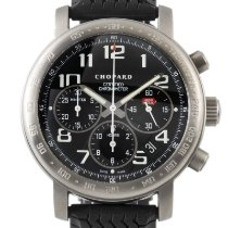 Chopard Titanium Automatic Black 40mm pre-owned Mille Miglia