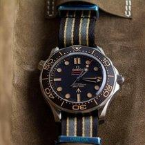 Omega Seamaster Diver 300 M Titanium 42mm Brown No numerals United States of America, Iowa, Des Moines