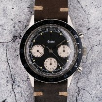Gallet Steel 38mmmm Manual winding pre-owned United States of America, Florida, Sunny Isles Beach