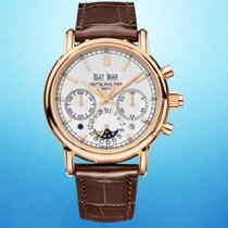 Patek Philippe Perpetual Calendar Chronograph Rose gold 41mm Silver No numerals United States of America, New York, New York