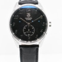 TAG Heuer Carrera Calibre 6 Steel 39mm Black Arabic numerals United States of America, New York, New York