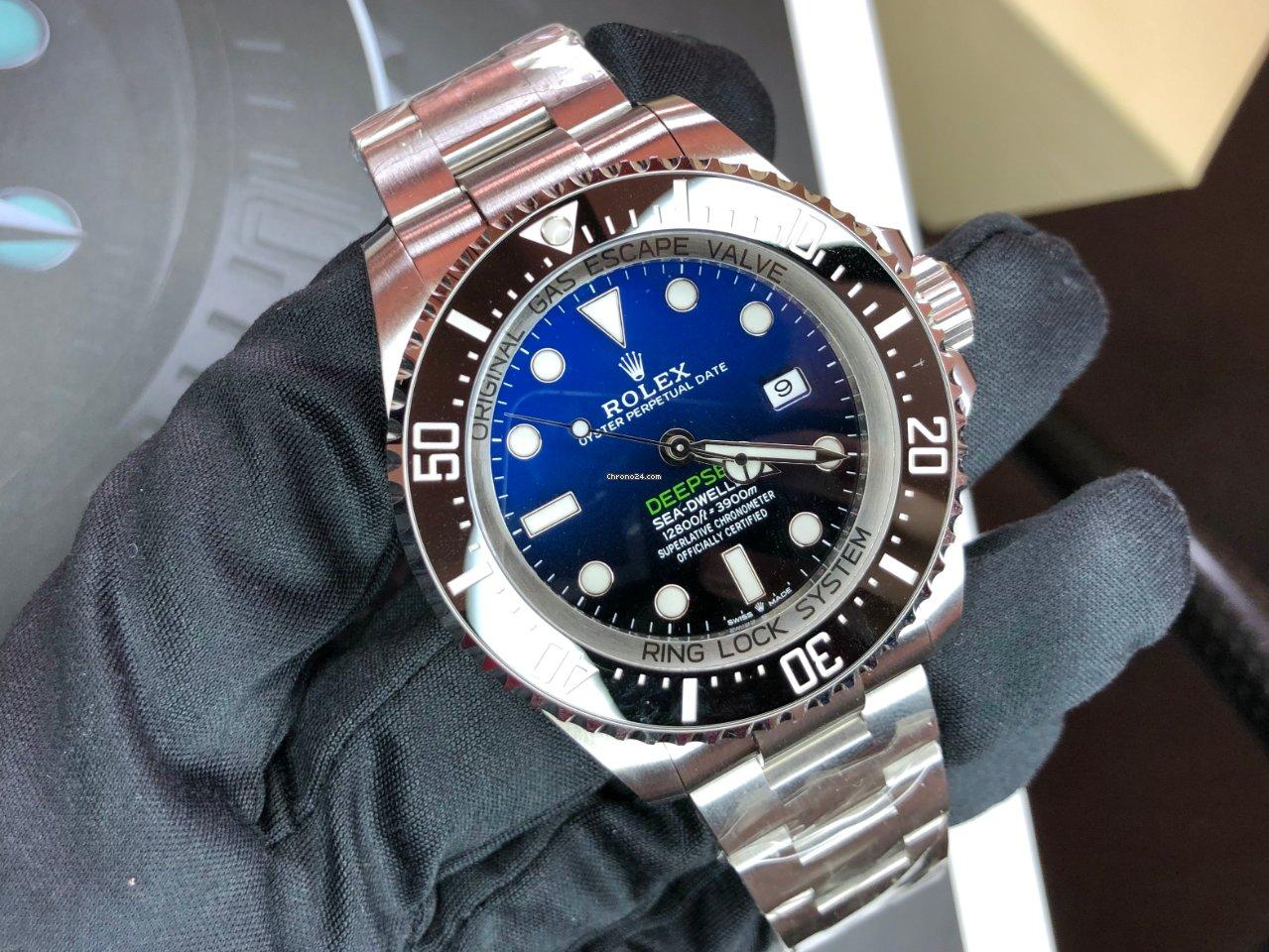 Rolex Sea-Dweller Deepsea 126660 D-BLUE 2021 nuevo