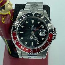 Rolex GMT-Master II Steel 40mm Black No numerals Malaysia
