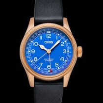 Oris Big Crown Pointer Date Bronze 40mm Blue United States of America, California, Burlingame