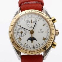 Omega Speedmaster Professional Moonwatch Moonphase Gold/Steel 39mm White Roman numerals United Kingdom, Kings Langley