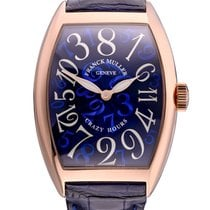 Franck Muller Crazy Hours Rose gold Blue United States of America, Florida, North Miami Beach