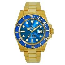 Rolex Submariner Date 116618LB Nuevo Oro amarillo 40mm Automático