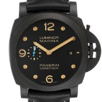 Panerai Automatic Black Arabic numerals 44mm pre-owned Luminor Marina 1950 3 Days Automatic