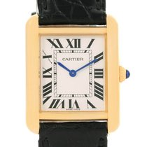 Cartier Tank Solo Gold/Steel 30mm Silver Roman numerals United States of America, Georgia, Atlanta
